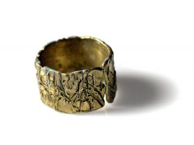 Χειροποίητο Δαχτυλίδι Δάσος από ορείχαλκο