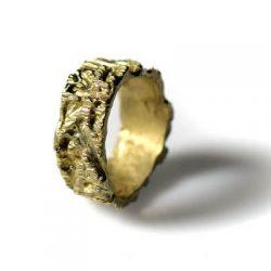 Χειροποίητο Δαχτυλίδι Κομήτης από ορείχαλκο