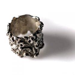 Χειροποίητο δαχτυλίδι Σεβαλιέ από ασήμι 925