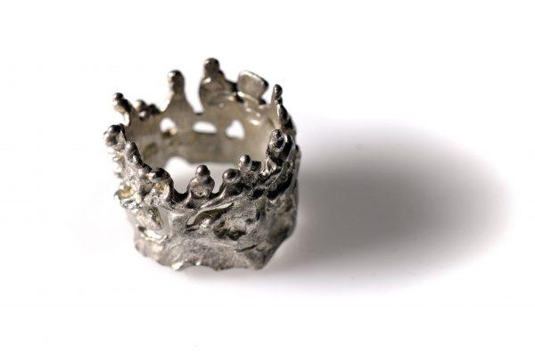 Χειροποίητο δαχτυλίδι Ξωτικά Σεβαλιέ από ασήμι