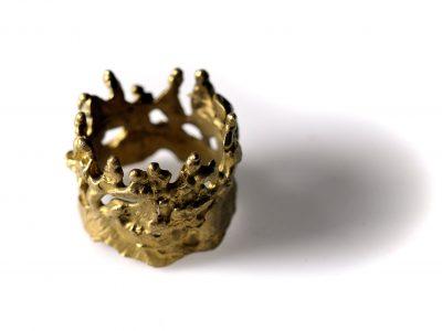 Χειροποίητο δαχτυλίδι Ξωτικά Σεβαλιέ από ορείχαλκο