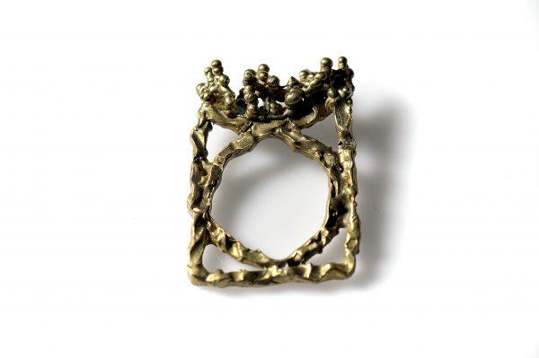 Χειροποίητο Δαχτυλίδι Μινωική Σφραγίδα από ασήμι 925