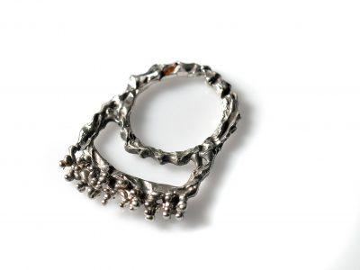 Χειροποίητο Δαχτυλίδι Μινωικό από ασήμι