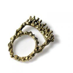 Χειροποίητο Δαχτυλίδι Μινωικό από ορείχαλκο
