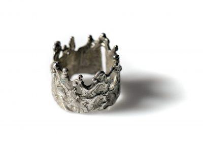 Χειροποίητο Δαχτυλίδι Νεράιδες από ασήμι