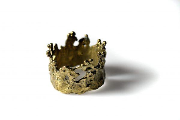 Χειροποίητο Δαχτυλίδι Νεράιδες από ορείχαλκο