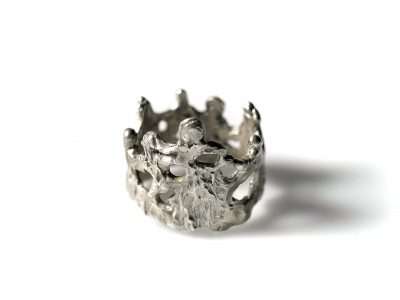Χειροποίητο Δαχτυλίδι Νηρηίδες από τη σειρά Χορός από ασήμι 925