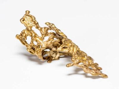 Χειροποίητο Δαχτυλίδι Κρόνος από ορείχαλκο