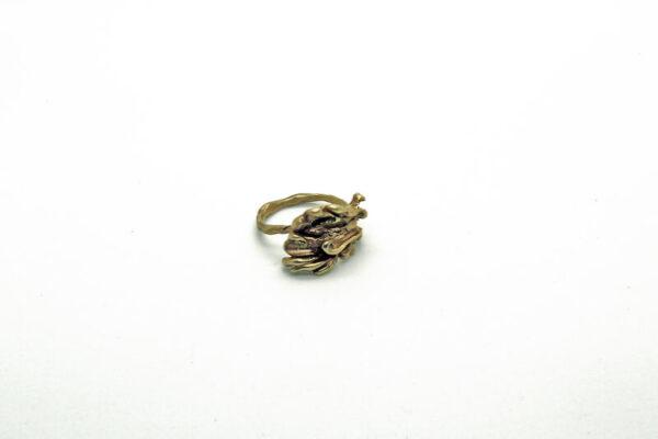 Χειροποίητο Δαχτυλίδι Άγγιγμα από ορείχαλκο