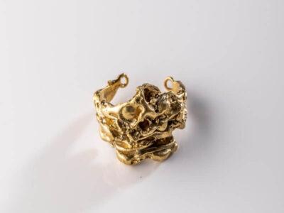 Χειροποίητο Δαχτυλίδι Ανατολή από ασήμι