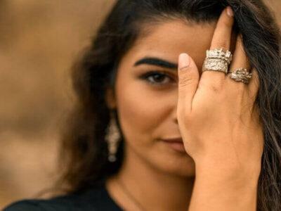 Χειροποίητο Δαχτυλίδι Αρετούσα από ασήμι