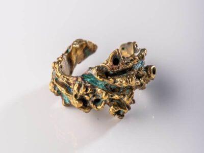 Χειροποίητο Δαχτυλίδι Παλαιωμένο από ορείχαλκο